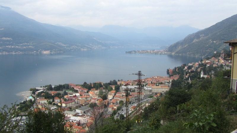 Bellano e Dervio visti dal Sentiero del Viandante