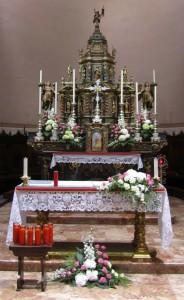 altare  - san lorenzo