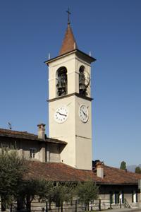 Campanile della Chiesa di Abbadia Lariana