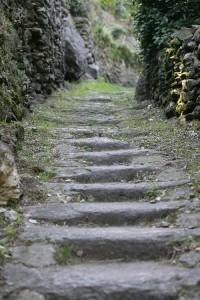 Dervio - Un tratto del Sentiero del Viandante