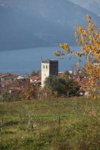 Torre di Maggiana a Mandello del Lario