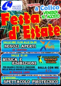 Locandina Festa d'Estate Colico 2012