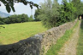 Sentiero del Viandante dopo Borbino