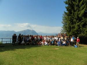 foto di gruppo a San Pietro di Ortanella