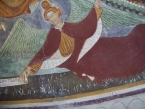 Chiesa di San Rocco in Villatico: particolare dell'abside