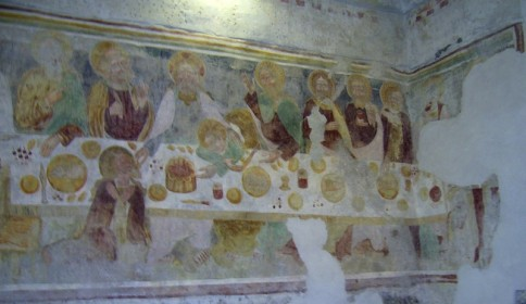 Chiesa di San Rocco a Villatico - L'ultima Cena