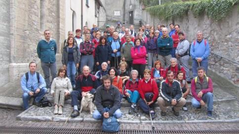 Sulle Orme del Viandante 2012 : i partecipanti alla 4^ Tappa