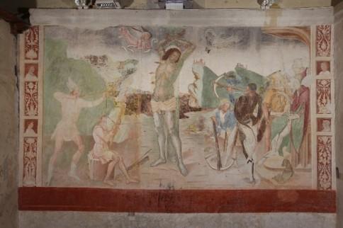 Martirio San  Sebastiano - Chiesa di San Rocco