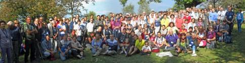 """Partecipanti alla tappa Dorio - Colico """"Sulle Orme del Viandante 2012"""""""