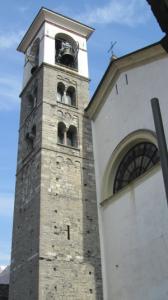 Fig. H: IL campanile della chiesa di San Lorenzo