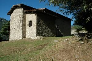 La Chiesa San Martino - Inizio del Sentiero del Viandante
