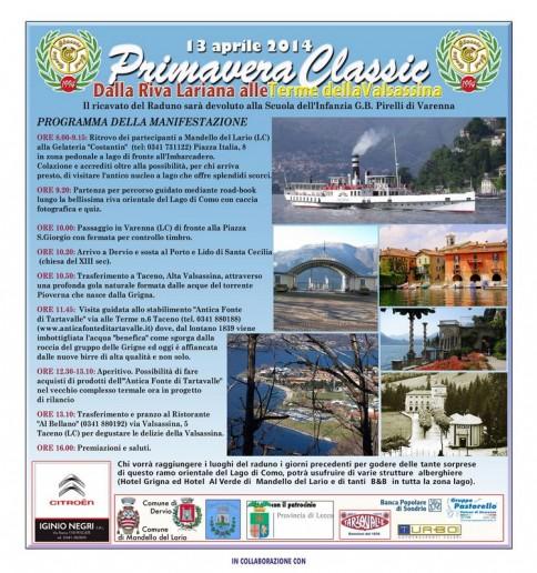 programma raduno 13 aprile 2014