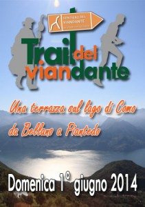 Manifesto trail del viandante