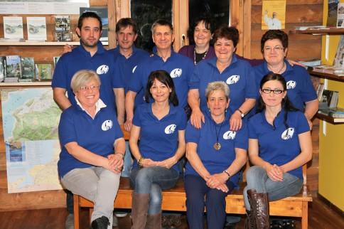 Nuovo staff Pro Loco Colico con l'Assessore al Turismo Cinzia Bettiga