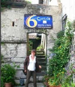 Lorena Olivieri a 6 nel castello