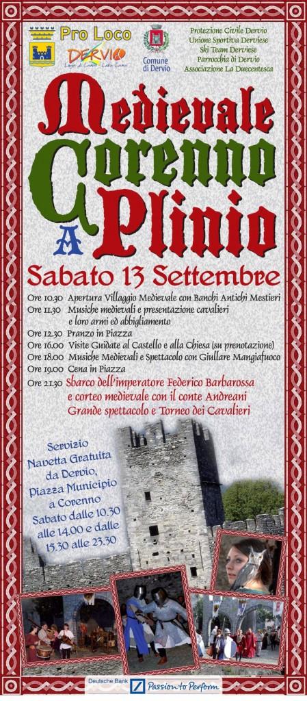Medievale  a Corenno locandina FIN