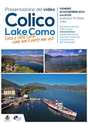 Locandina_pres video LakeComo