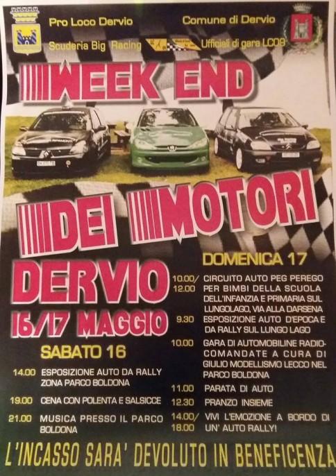 Manifesto Week end motori 2015