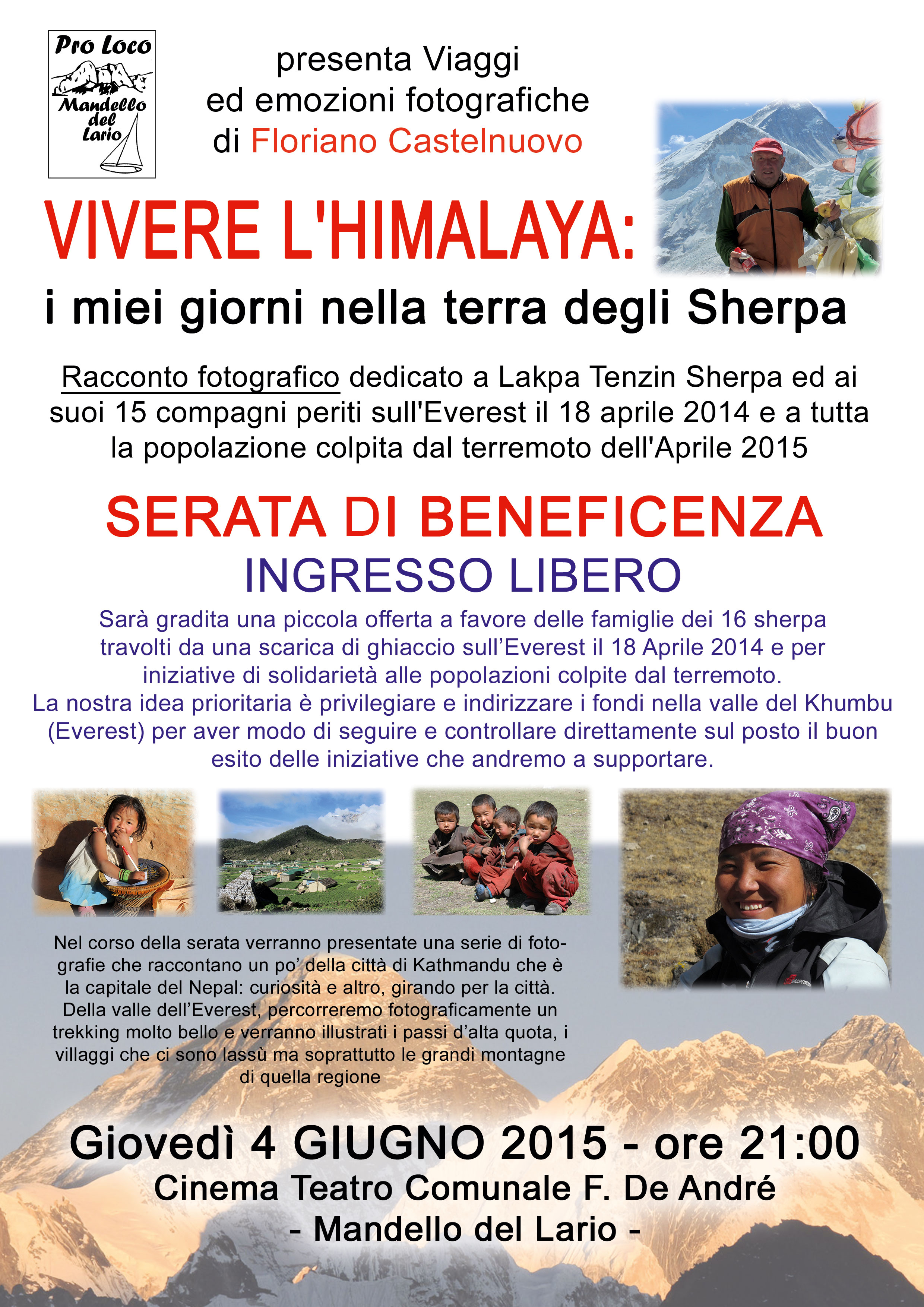 La Terra Degli Sherpa.Mandello Vivere L Himalaya I Miei Giorni Nella Terra Degli Sherpa