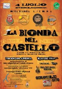 La Bionda locandina