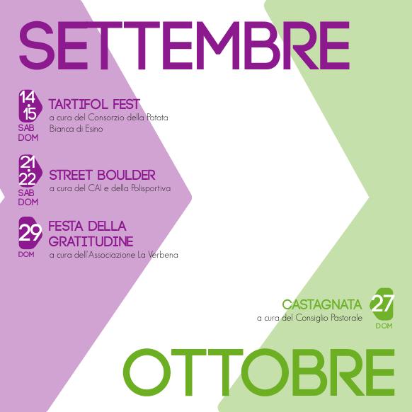 Eventi settembre