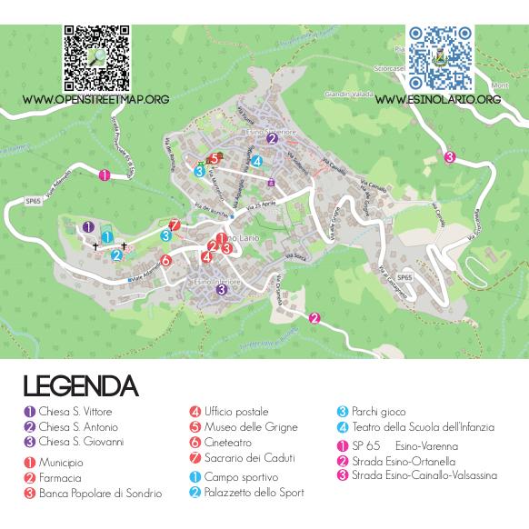 Mappa Esino
